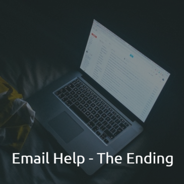 Ending a business Email in English guide